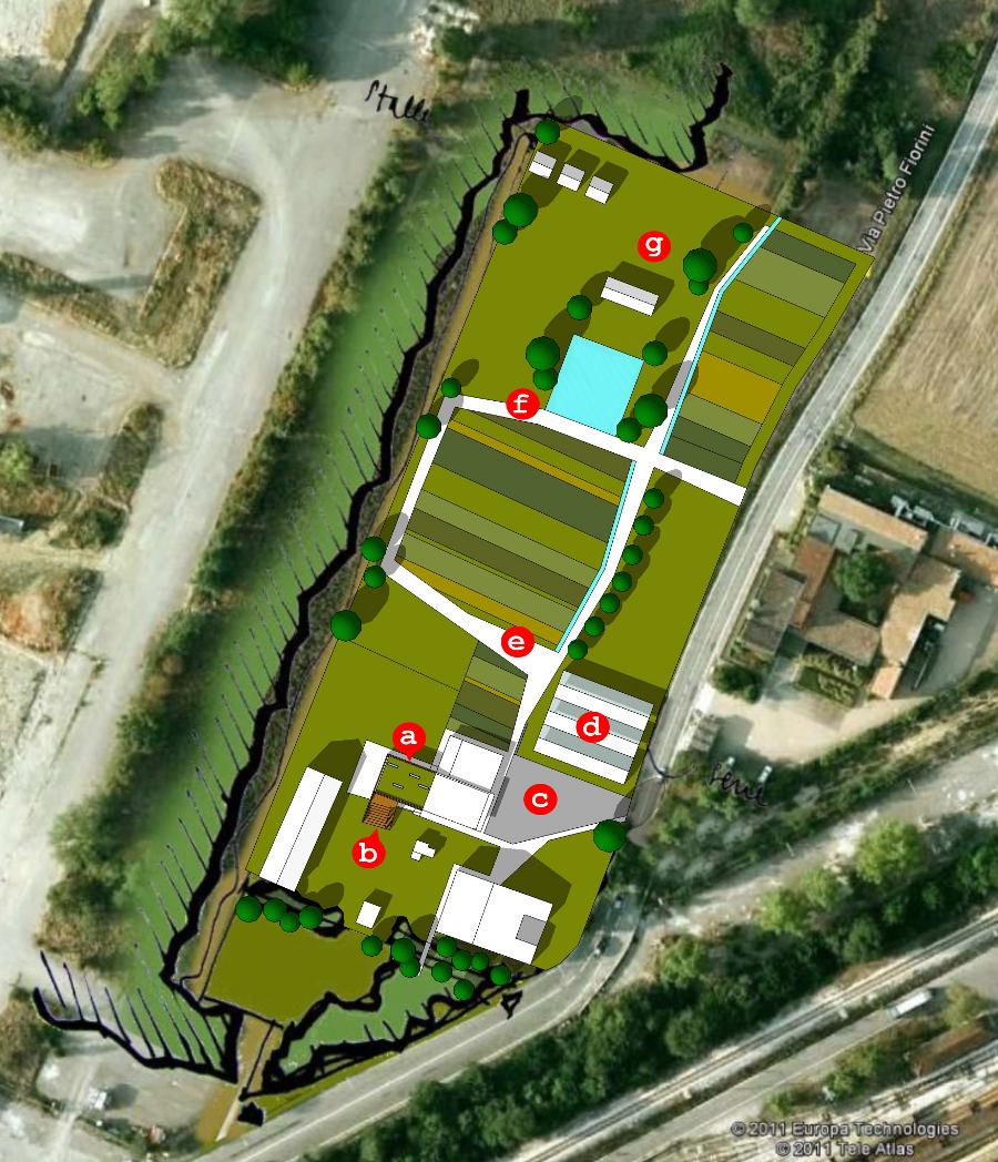 H a rd parco didattico for Planimetrie storiche della fattoria
